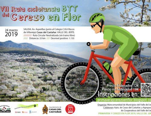 Ruta Cicloturista-BTT Cerezo en Flor 2019